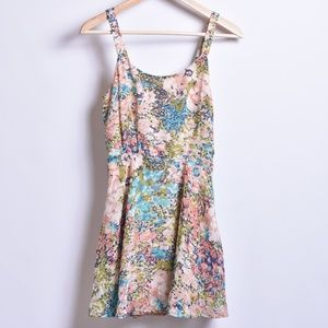Lucca Couture Floral Dress, Sz XS